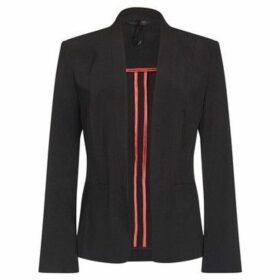 Anastasia  - Black Women`s Unlined Tailored Jacket Blazer  women's Jacket in Black