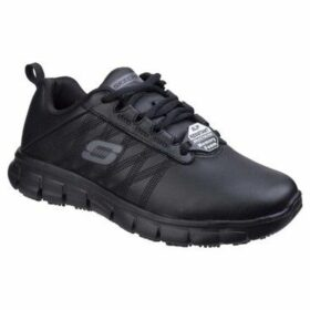 Skechers  Sure Track Erath Womens Slip Resistant Work Shoes  women's Shoes (Trainers) in Black