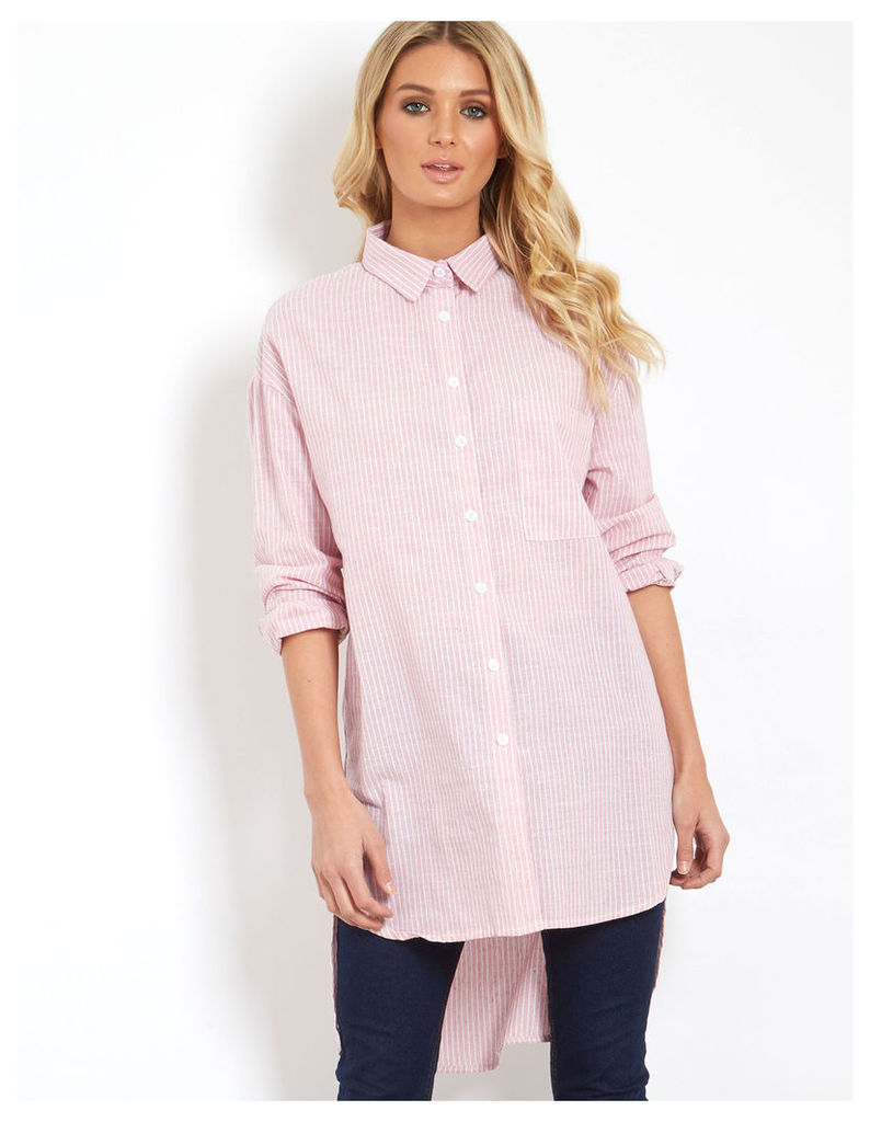 KATTI - Pink Boyfriend Shirt
