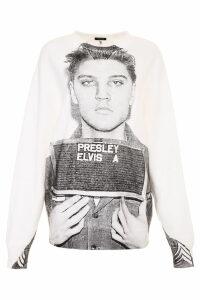 R13 Elvis Mugshot Sweatshirt