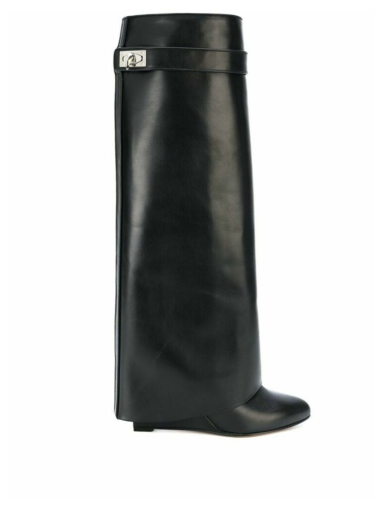 Givenchy Shark Lock knee-high boots - Black