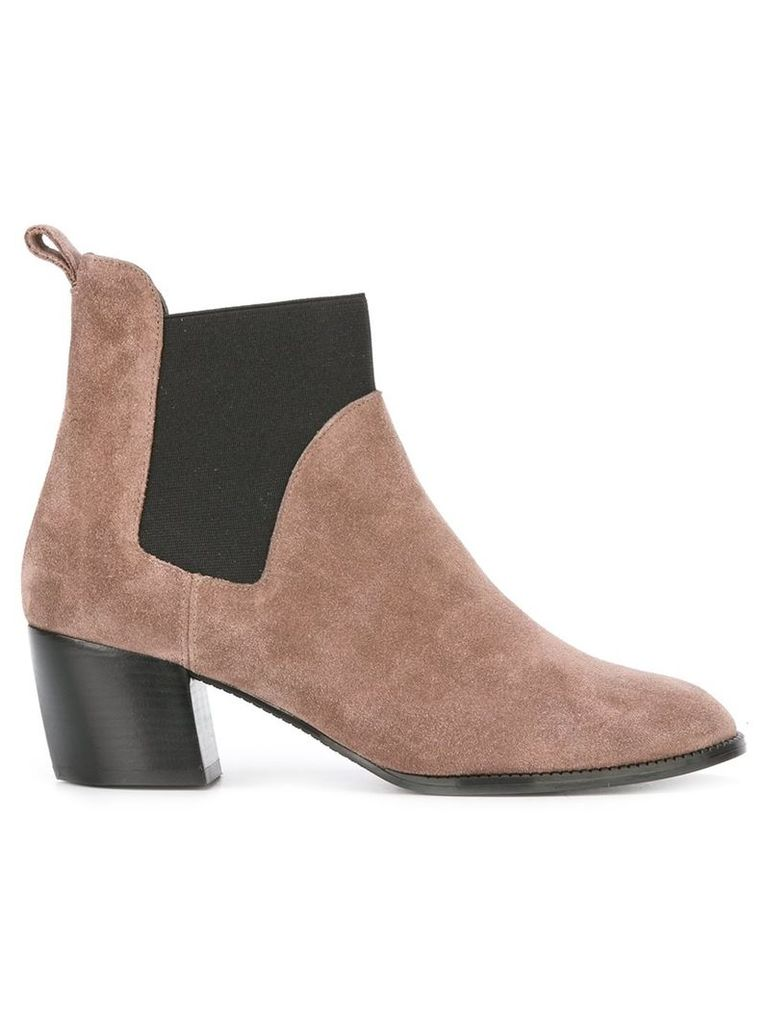 Robert Clergerie 'Marty' boots - Nude & Neutrals