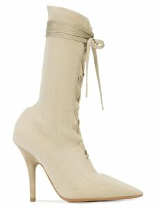 Yeezy knit sock ankle boots - Neutrals