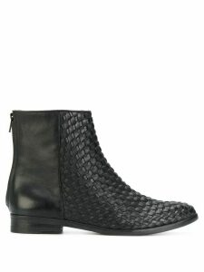 The Last Conspiracy woven ankle boots - Black