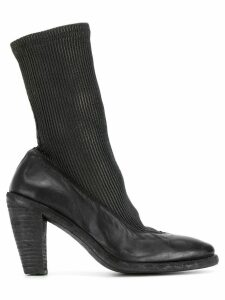 Guidi sock ankle boots - Black
