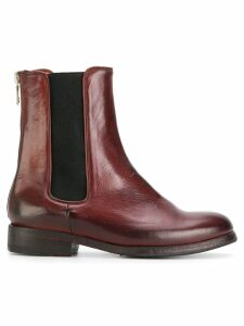 Sartori Gold chelsea boots - Red