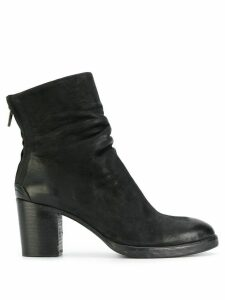 The Last Conspiracy zipped ankle boots - Black