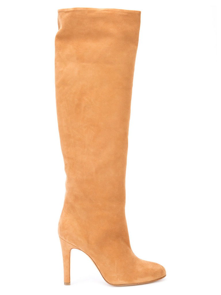 Alexa Wagner high-rise boots - Nude & Neutrals