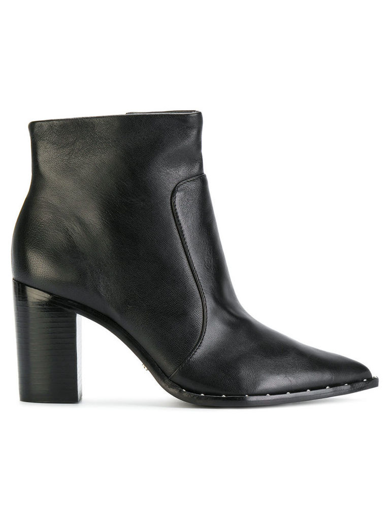Schutz pointed toe ankle boots - Black
