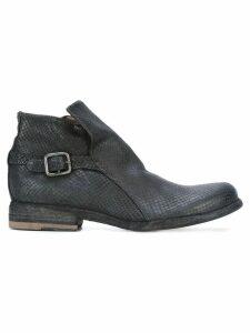 Officine Creative Legrand zip ankle boots - Black
