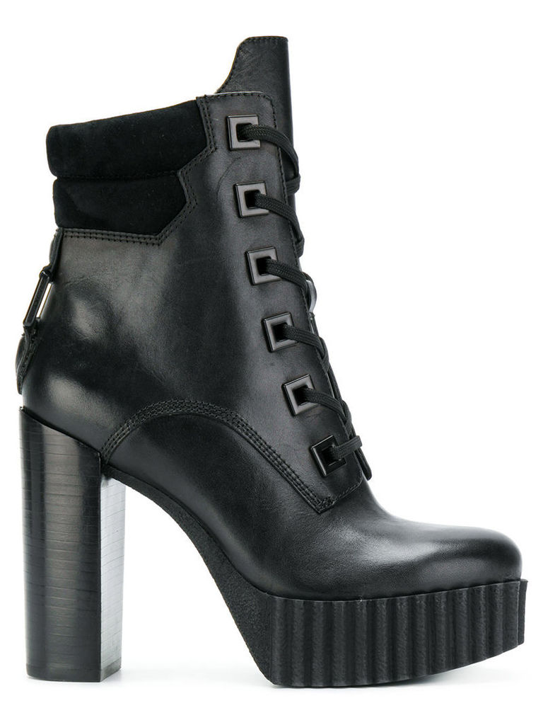 Kendall+Kylie Coty platform boots - Black
