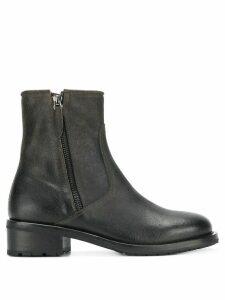 Henderson Baracco zipped chelsea boots - Black