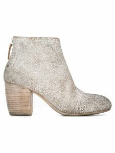 Marsèll cracked design ankle boots - White