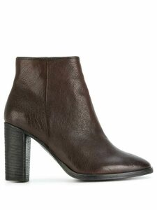 N.D.C. Made By Hand zipped ankle boots - Brown