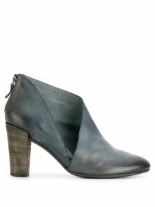 Del Carlo cut out detail boots - Grey