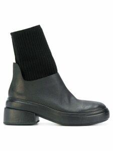 Marsèll cuff detail ankle boots - Black