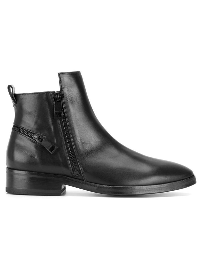 Kenzo zipped ankle boots - Black