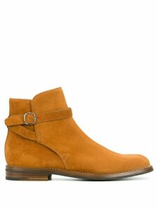 Church's buckled ankle boots - Brown