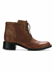 Sarah Chofakian ankle boots - Brown