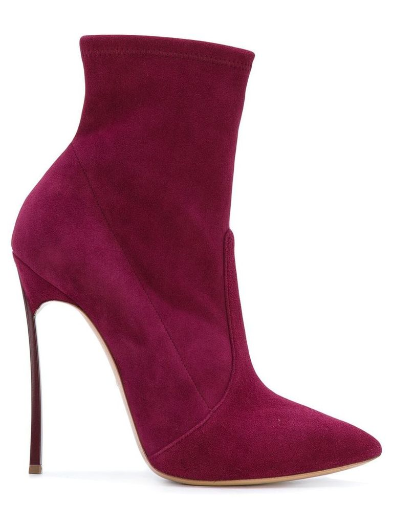 Casadei heeled ankle boots - Pink & Purple