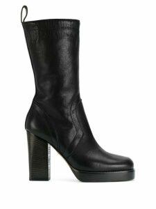Rick Owens classic chunky boots - Black