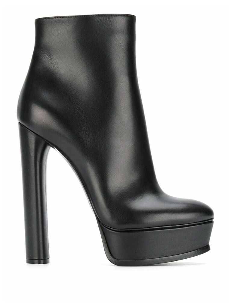 Casadei high heel ankle boots - Black