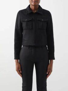 Carolina Herrera - V-neck Striped Gown - Womens - Multi