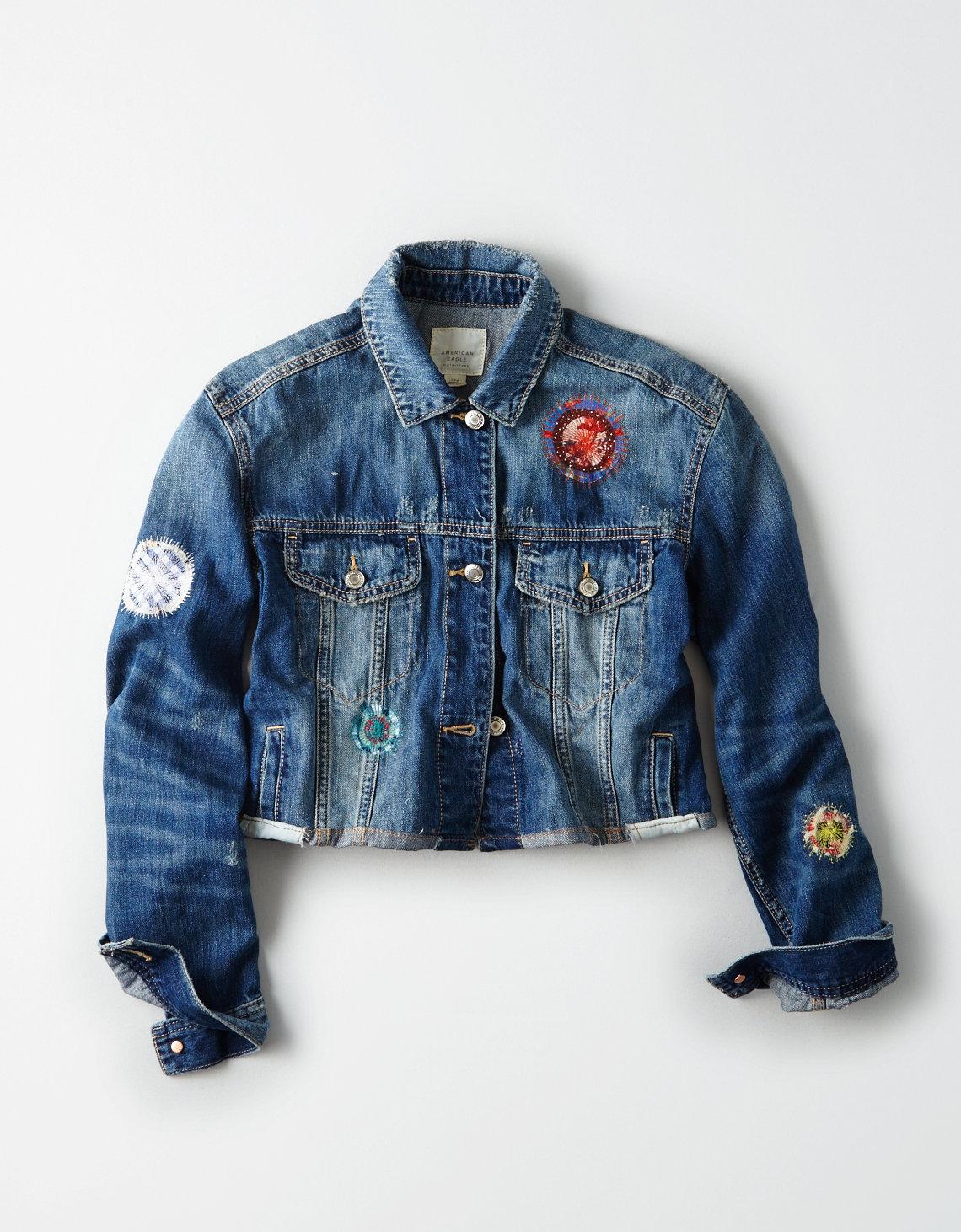 Atelier & Repairs X AE Cropped Denim Jacket