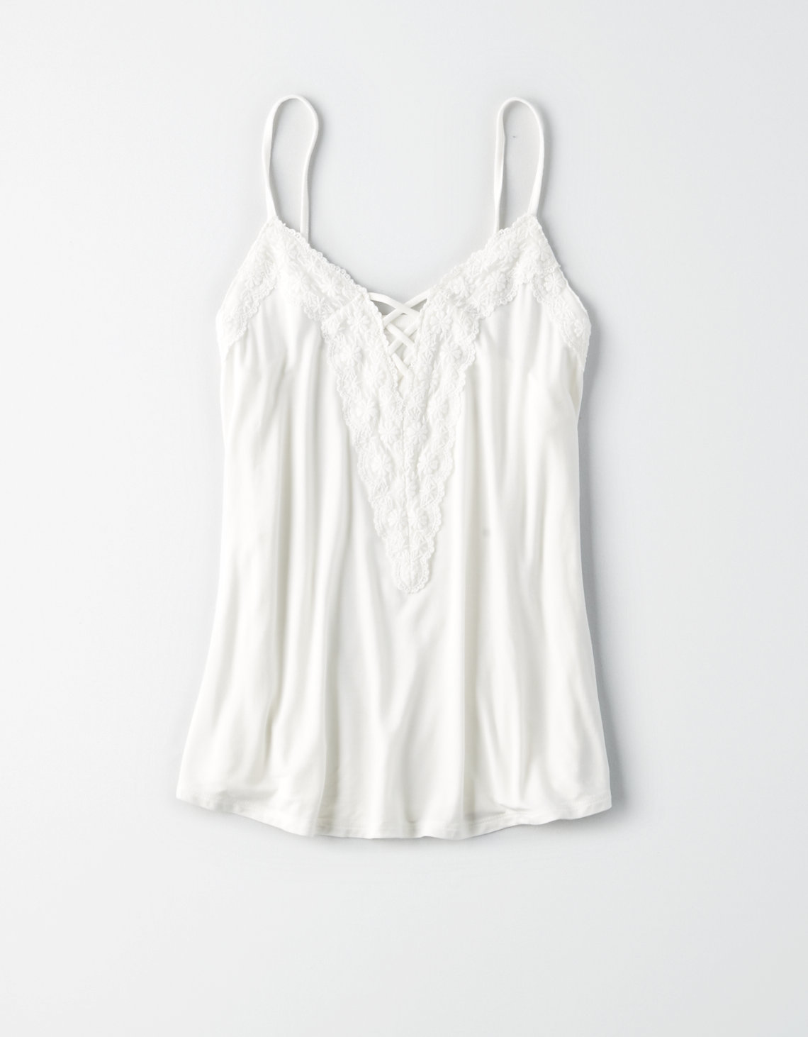 AE SOFT & SEXY LACE UP SWING TANK