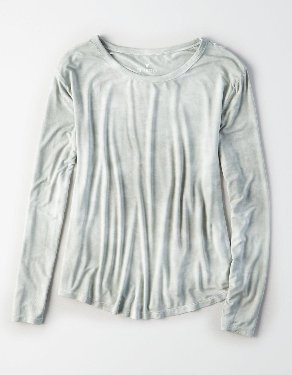 AE Soft & Sexy Long-Sleeve Favorite T-Shirt