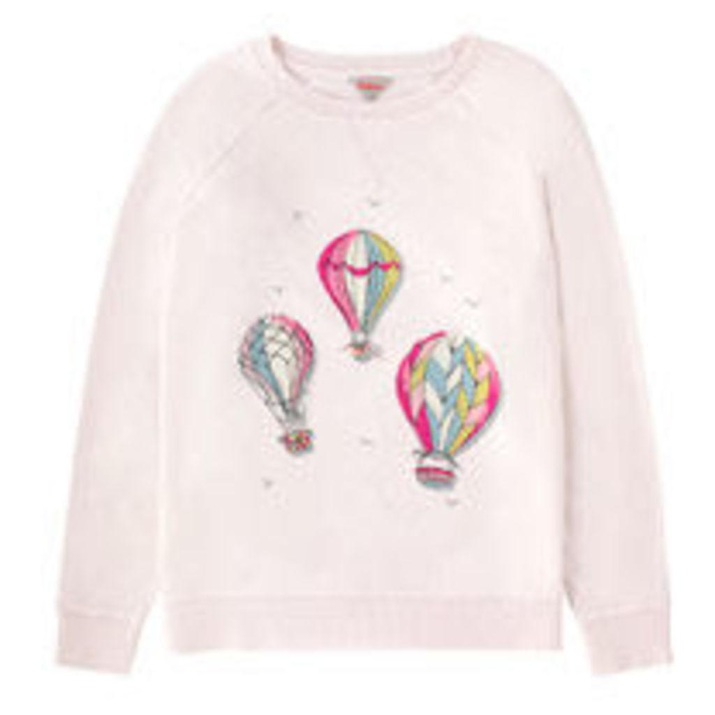Hot Air Balloons Cotton Sweatshirt