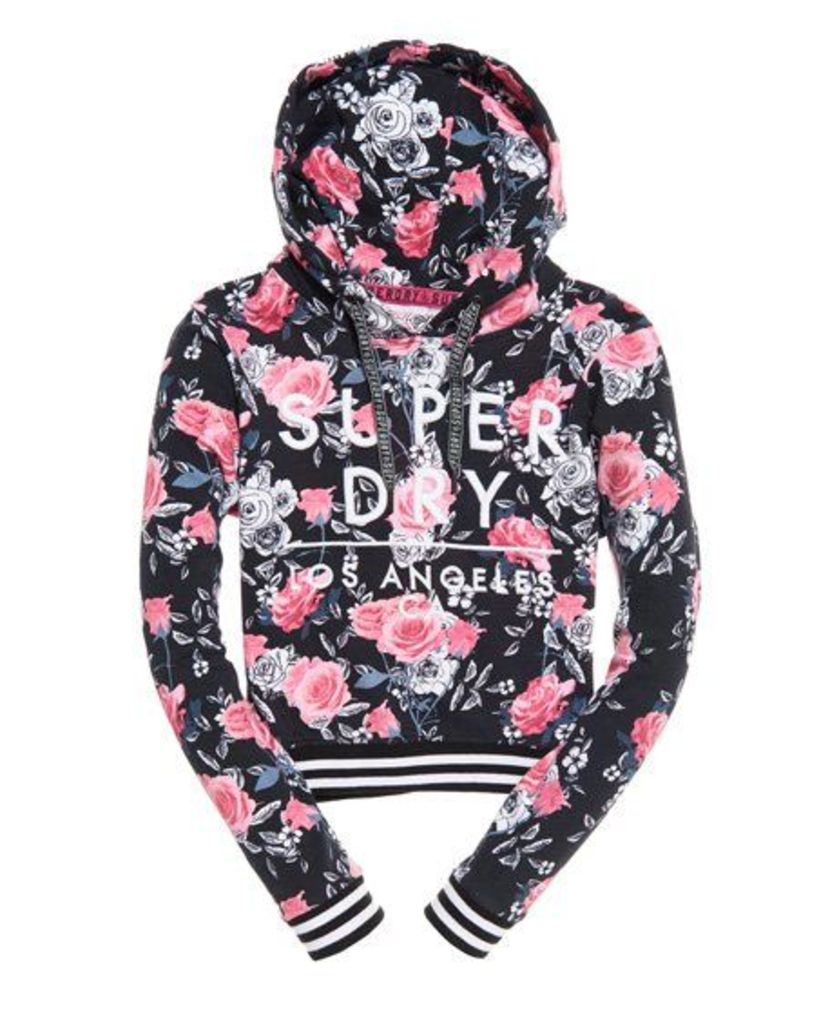 Superdry SD Boxy Rose All Over Print Hoodie