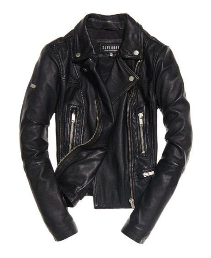 Superdry L.A Leather Biker Jacket