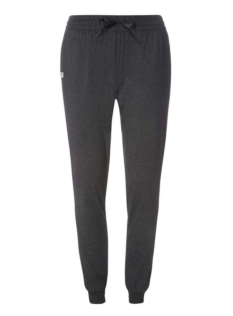 Womens **Only Play Dark Grey Ida Slim Joggers- Grey