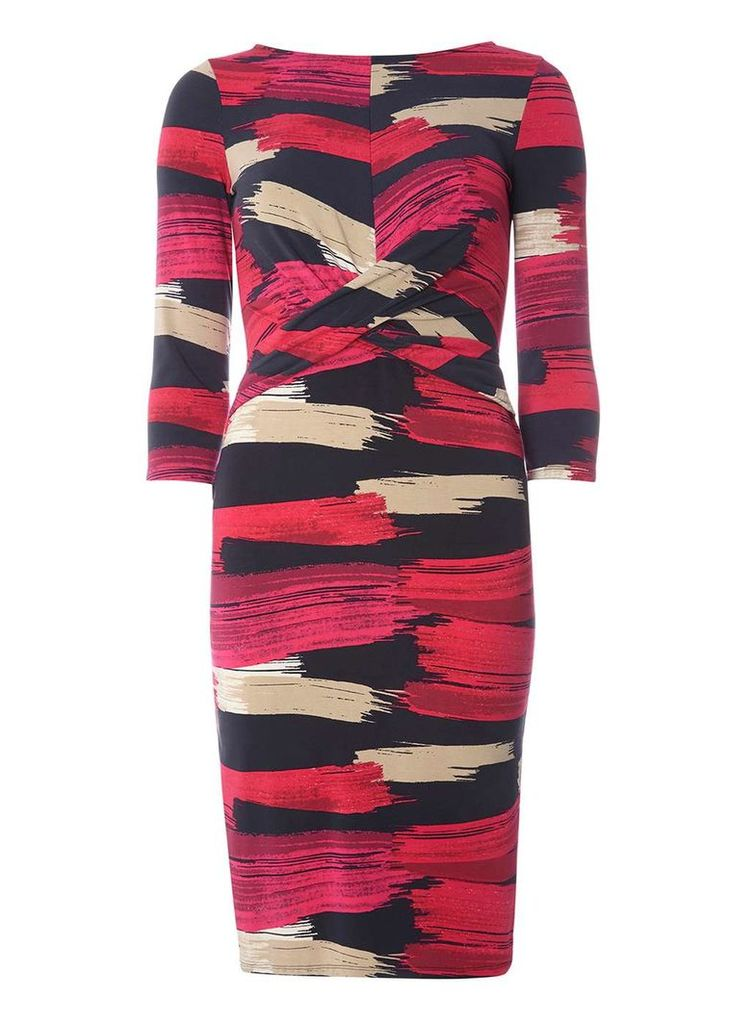 Womens **Lily & Franc Pink Bodycon Dress- Pink