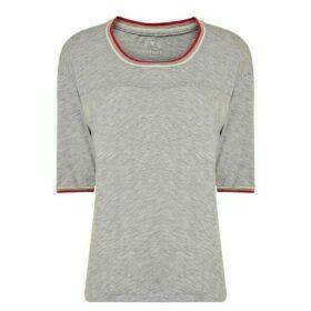Velvet Trim T Shirt