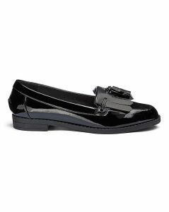 Fringe And Tassel Loafers E Fit