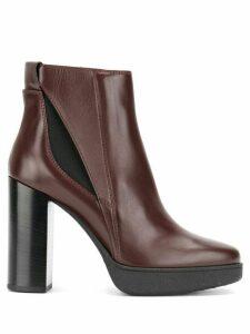 Tod's platform ankle boots - PINK