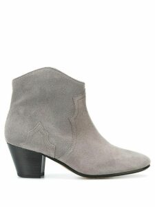 Isabel Marant Dicker ankle boots - Grey