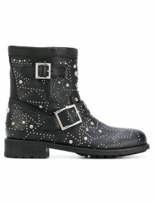 Jimmy Choo Youth biker boots - Black