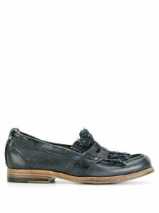 Sartori Gold distressed loafers - Blue