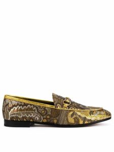 Gucci Jordaan floral brocade loafers - Multicolour