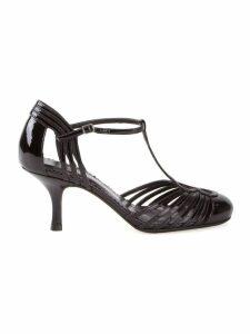 Sarah Chofakian strappy pumps - Black