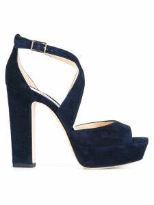 Jimmy Choo April 120 sandals - Blue