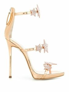 Giuseppe Zanotti Harmony Star sandals - Metallic