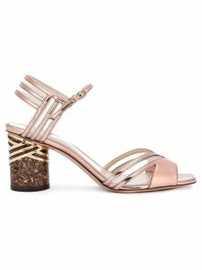 Nicholas Kirkwood Zaha sandals - Metallic