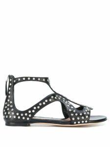 Alexander McQueen studded sandals - Black