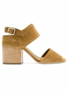 Officine Creative sling back buckle sandals - Brown