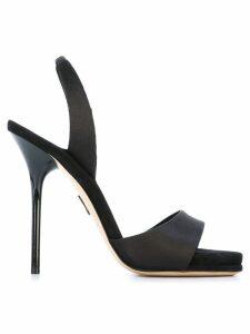 Paul Andrew sling-back stiletto sandals - Black