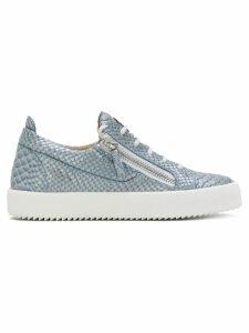 Giuseppe Zanotti Nicki low-top sneakers - Blue
